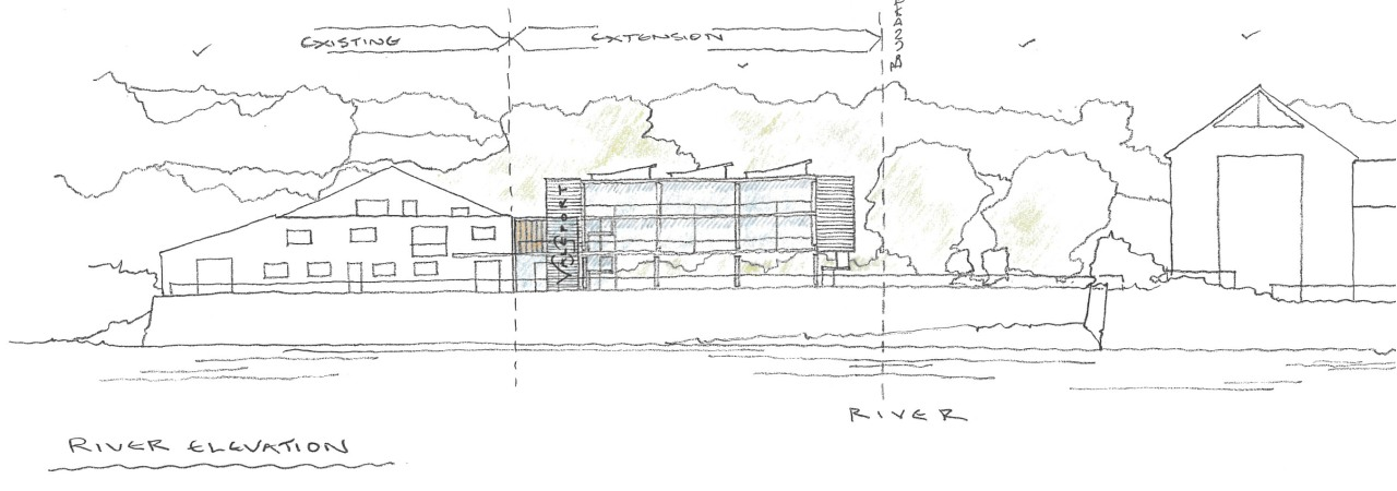 2 - Hand Drawn Elevation